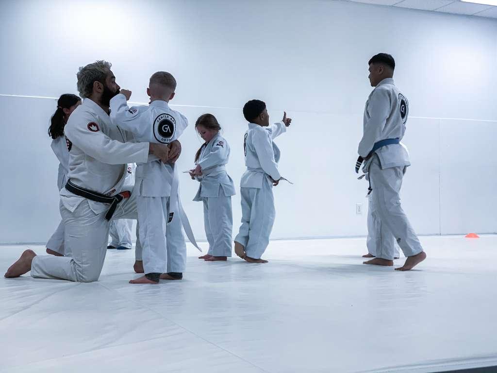 An Average Day in Kids Jiu Jitsu Class