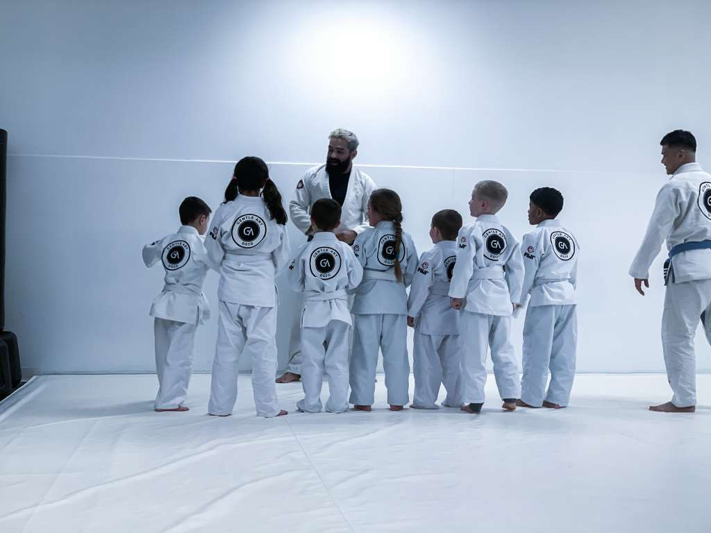 An Average Day in Kids Jiu Jitsu Class